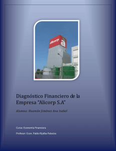 ejemplo diagnostico financiero
