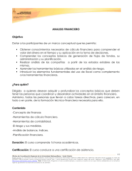 Analisis-Financiero - Universidad Metropolitana