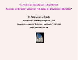 La revolución educativa en la Era Internet