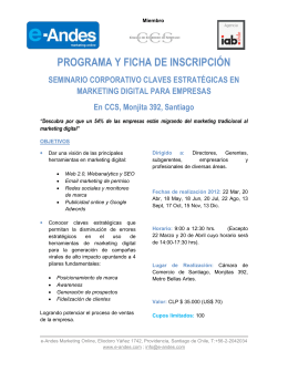 Claves Estratégicas en Marketing Digital para Empresas - E