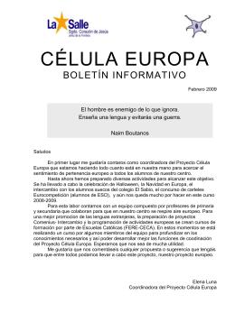Boletín Digital - Escuelas Católicas