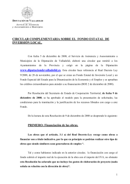 Circular fondo estatal de inversión local(70 kB.)