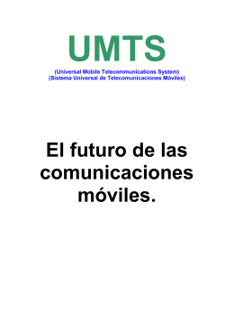 Arquitectura UMTS
