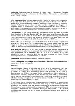 """""""II Simposio Internacional, Infancia, Educación, Derechos de NIños"""