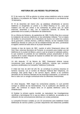TIPOS DE CENTRALES TELEFONICAS