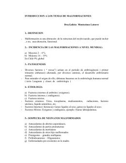 1-Malform,Hernia diafrag, atresia esof