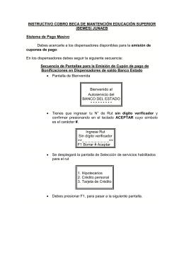 Instructivo de cobro Pago Masivo