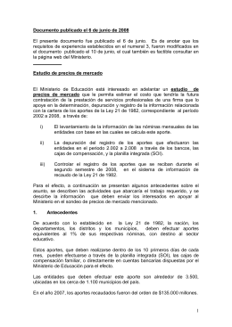 Documento inicial – Publicado en junio 6