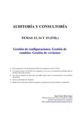 Temas 13-14-15 (ITIL