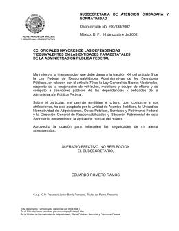 SECODAM - Secretaría de la Función Pública