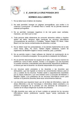 NORMAS DE RECURSOS INFORMATICOS JCP