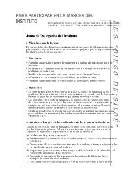 ELECCIÓN DE DELEGADOS