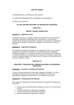 Convenio multilateral for Ley del ministerio del interior