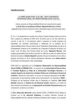 Gacetilla Cirs 2015