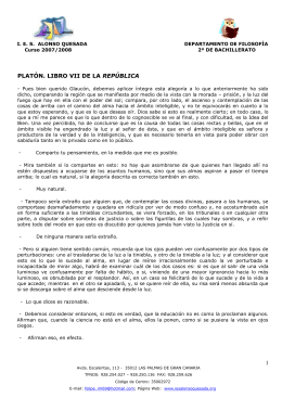 Texto de Platón en Word - Biblioteca virtual del IES Alonso Quesada