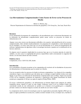 Second LACCEI International Latin American and Caribbean