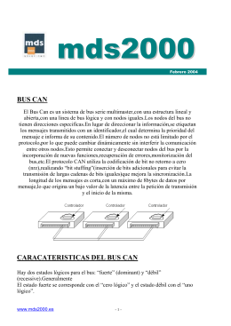 BUS CAN - Mds 2000