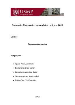 1.4. Tipos de Comercio Electrónico.