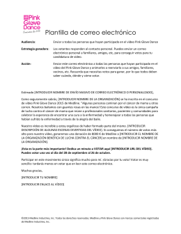 Plantilla de correo - Medline Industries, Inc.