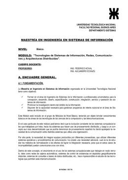 REDES DE DATOS - Comunicación Nueva