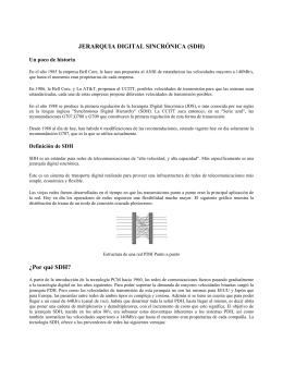 Aplicaciones de SONET/SDH