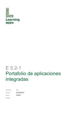 E5.2-1Portafolio de Aplicaciones Integradas