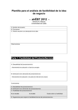 -  atrÉBT 2012  - de negocio