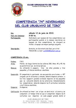 Montevideo, - Club Uruguayo de Tiro