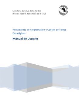 Manual de usuario Herram DTR