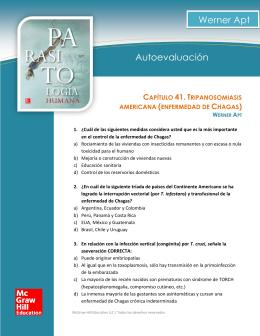 Apt_Autoevaluacion_c41_TRIPANOSOMIASIS_AMERICANA