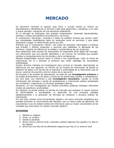 MERCADO - Intel Engage