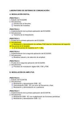 LABORATORIO DE SISTEMAS DE COMUNICACIÓN I