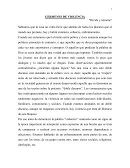 LA METAFORA DE LA ADOLESCENCIA Y LAS CRISIS DE LAS