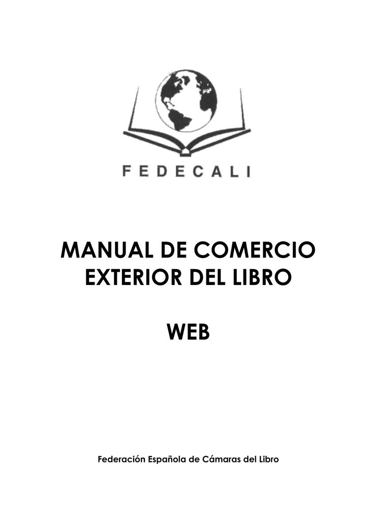 Manual De Comercio Exterior Del Libro
