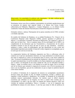 Arnaldo Castillo - Discurso de la Presidencia Pro