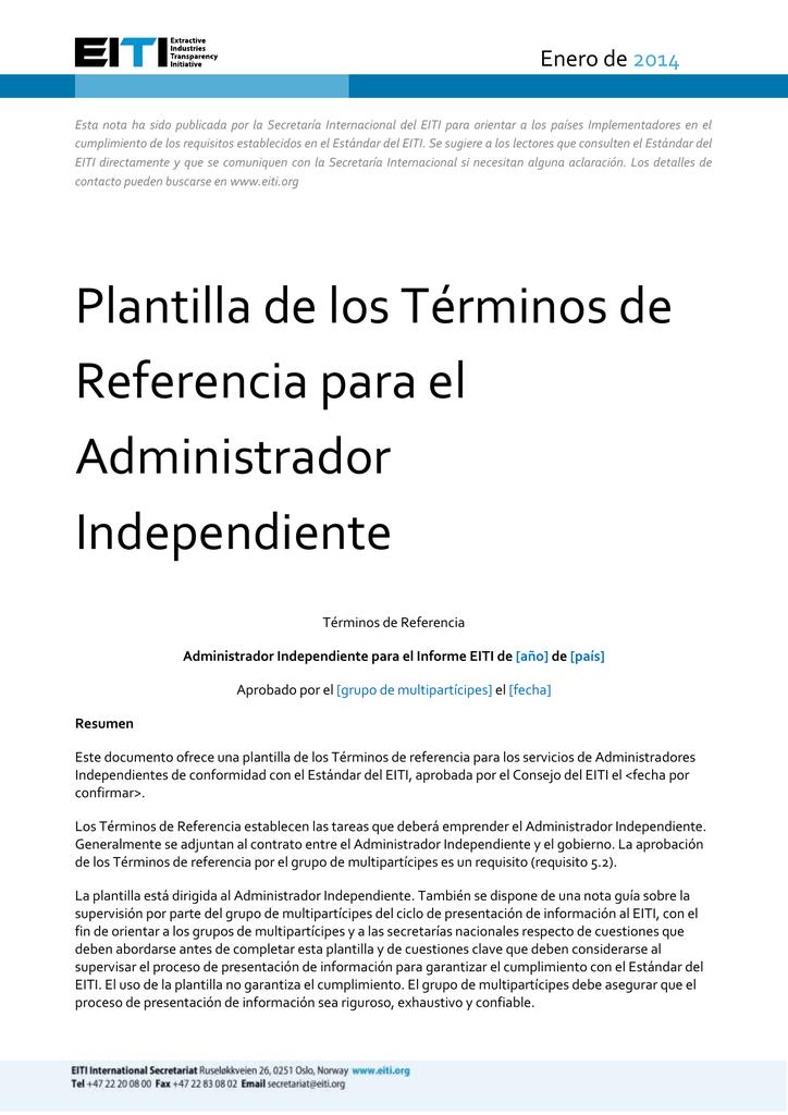Esta nota ha sido publicada por la Secretaría Internacional del EITI