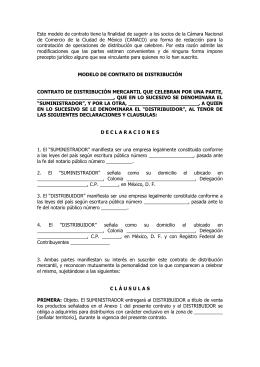 Contrato De Consignaci N De Obras