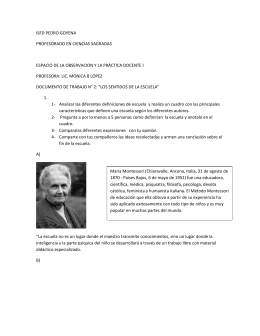 documento de trabajo n° 2