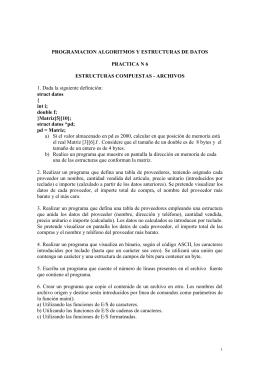 PROGRAMACION ALGORITMOS Y ESTRUCTURAS DE DATOS