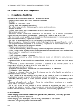 Para mejorar nuestro conocimiento mutuo - CEP de Algeciras
