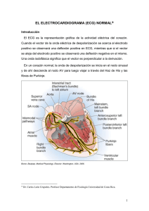El electrocardiograma normal