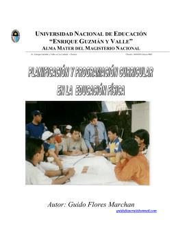 PROCESOS DE LA PLANIFICACION CURRICULAR