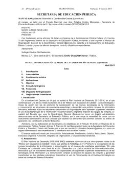 SECRETARIA DE EDUCACION PUBLICA