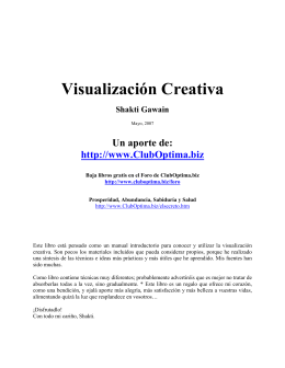 "Libro: ""Visualización creativa"""