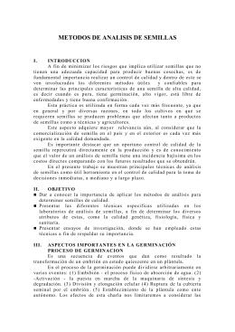 PROCESO DE GERMINACIÓN