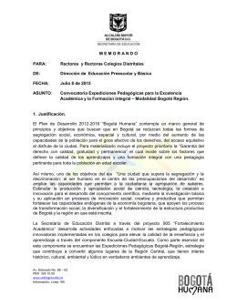 Descargue Documento Convocatoria