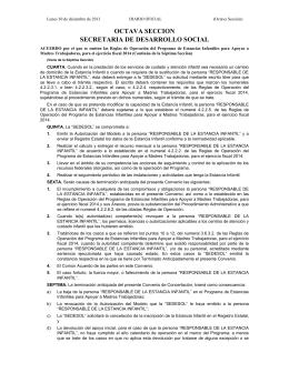 Empleo Temporal - Diario Oficial de la Federación