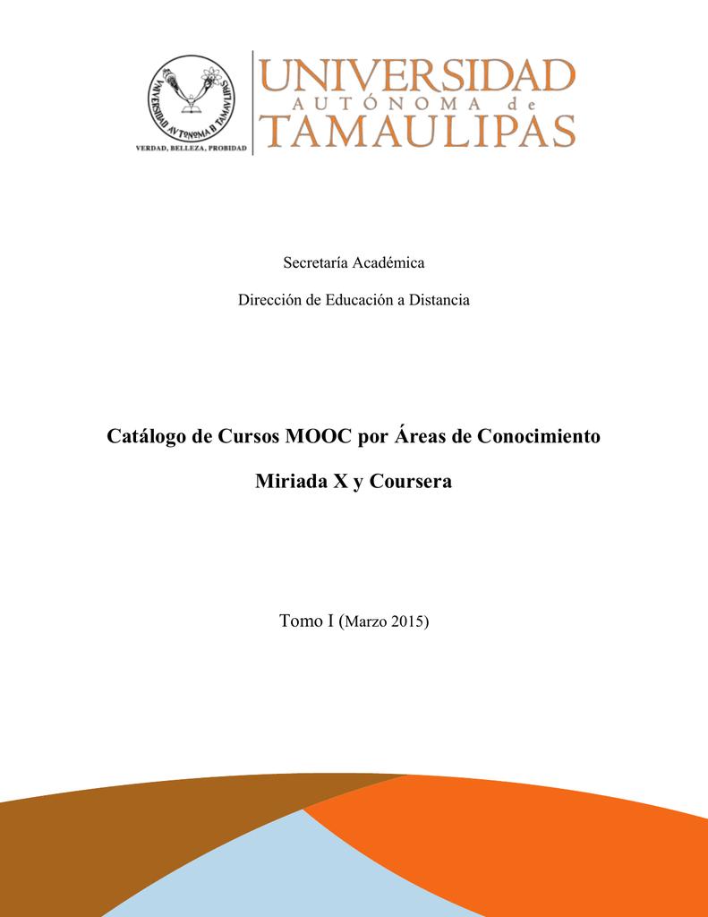 Catálogo de Cursos Mooc por áreas de Conocimiento (Miriada