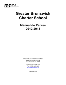 Greater Brunswick Charter School