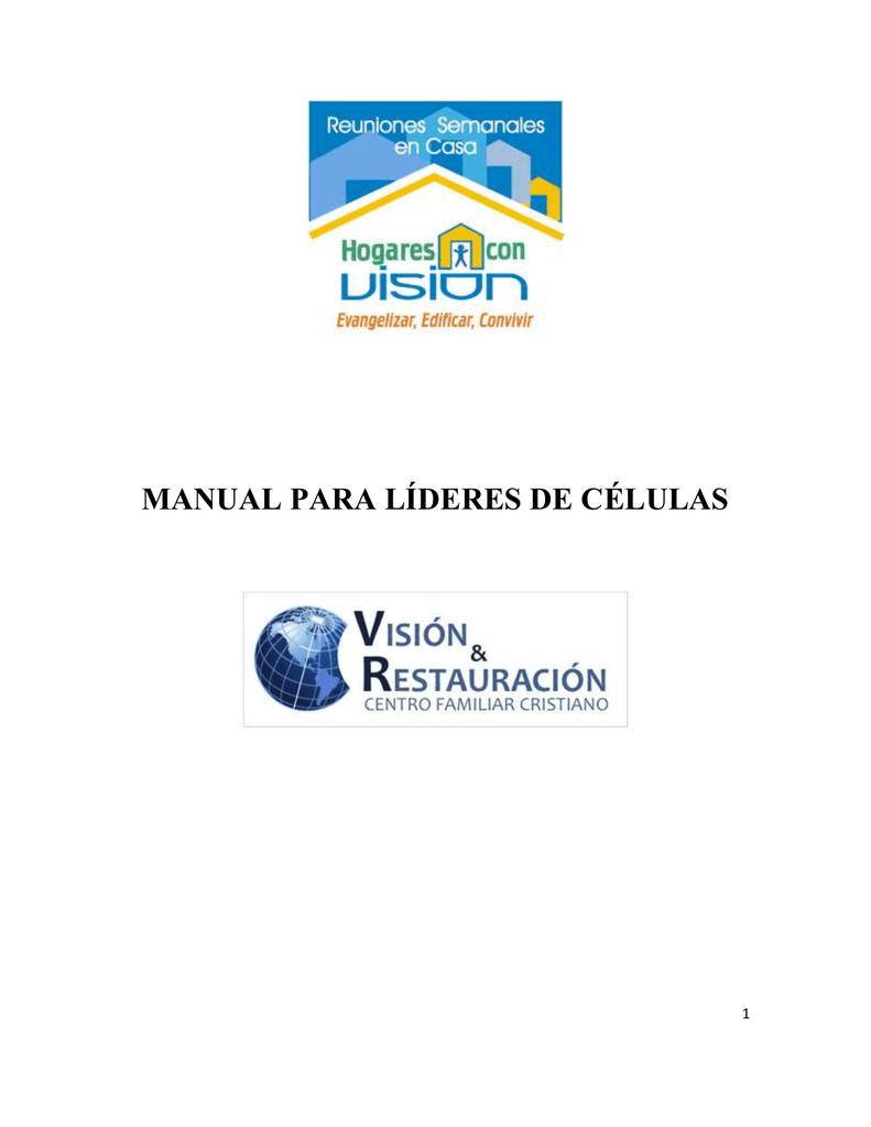 Manual Celular Visión Y Restauración
